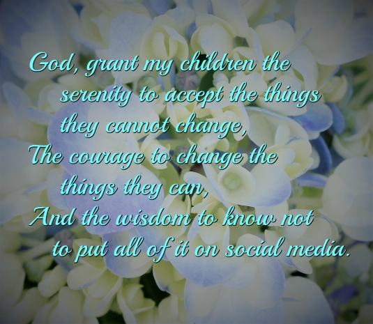parent serenity prayer